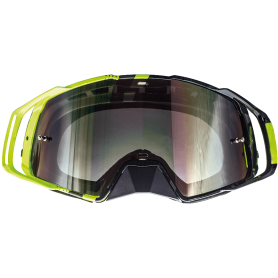 Gafas Cross MT MX-EVO Stripes Negro Amarillo Fluor