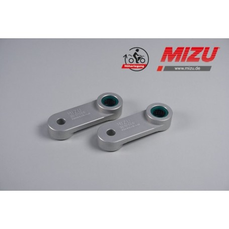 Kit para subir altura BMW G650GS (09-) Mizu +25mm trasera