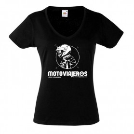 Camiseta Oficial Motoviajeros LONG WAY RIDER Mujer
