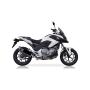 Escape Honda NC700-750X/S/Integra 12- Ixil Xove Hexoval Xtrem Black Evolution Slip On