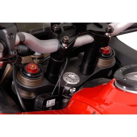Elevador de Manillar Ducati Multistrada 1200 10-14/1260 18- Eleva 30mm Negro