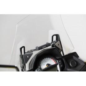 Soporte de GPS Kawasaki Versys 650 2015- QUICK-LOCK Negro