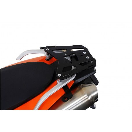 Soporte maleta trasera KTM 990 SM/SMR 2007- ALU-RACK SW-MotechNegro