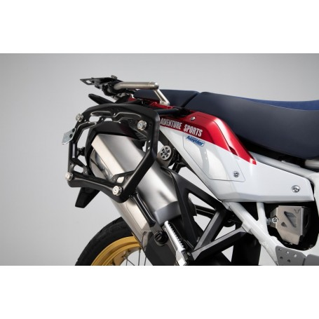 Soportes laterales PRO Honda Africa Twin / Adv Sports 2018- Off-Road Negro