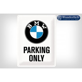 Letrero de chapa BMW Parking Only 30x40cm Nostalgic-Art Wunderlich 25320-200