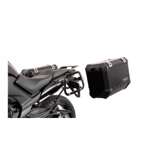 Soportes maletas laterales Honda CBF 1000 F 2009-15 SW-MOTECH EVO Negro