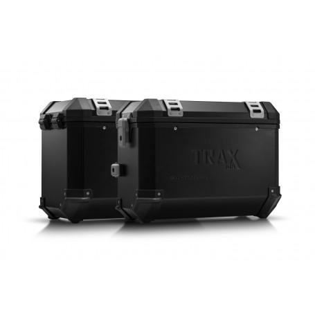 Sistema de maletas BMW R 1100 / 1150 GS TRAX ION 37 / 45 L. Negro/Plateado