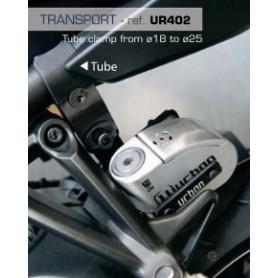 Soporte Candado Antirrobo Urban UR14S/UR10 Sujeción Tubos y Tornillos Fácil Transporte