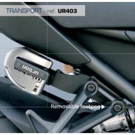 Soporte Candado Antirrobo Urban UR14S/UR10 Sujeción Estribera Fácil Transporte