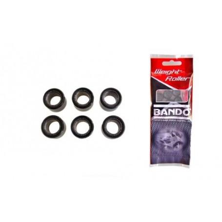Rodillos de Variador Ø.18x14 13 gr Bando 6 piezas