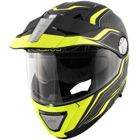 Casco GIVI X.33 Canyon Layers Blanco/Rojo/Azul Modular