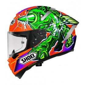 Casco SHOEI X-Spirit 3 Power Rush TC8 Integral