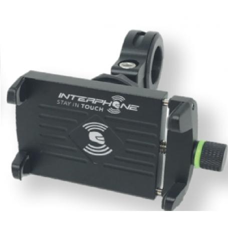 Soporte de Smartphone universal para moto (con carga USB) INTERPHONE