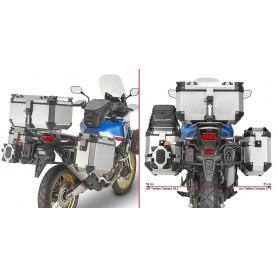 Soporte Maletas Laterales Honda CRF 1000L Africa Twin / Adv Sport 18- Givi Monokey Trekker Outback