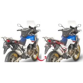 Soporte Maletas Laterales Honda CRF 1000L Africa Twin / Adv Sport 18- Givi Monokey Side Cases fijación rápida