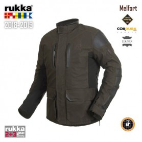 Chaqueta RUKKA MELFORT Gore-Tex Urban Marrón Oscuro