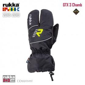 Guantes RUKKA GTX3 CHAMB Gore-Tex Negro Invierno