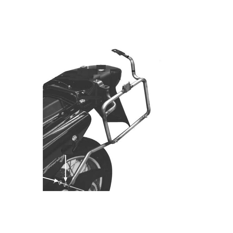 SOPORTE GIVI MALETAS LATERALES HONDA XL650V TRANSALP 00>07