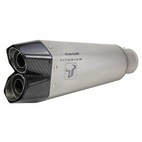 ESCAPE HONDA NC 700 -750 X / S / INTEGRA 12-18 IXRACE M10 SERIES TITANIUM Homologado