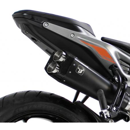 ESCAPE KTM DUKE 125 11-16 IXRACE M9 SERIES BLACK Homologado