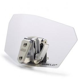 Deflector Spoiler Givi S180T Shield Universal Transparente