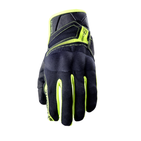 Guantes Five RS3 Negro/Amarillo Fluor
