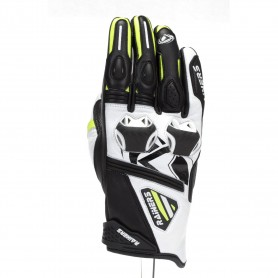 Guantes Rainers Facer Racing Fluor