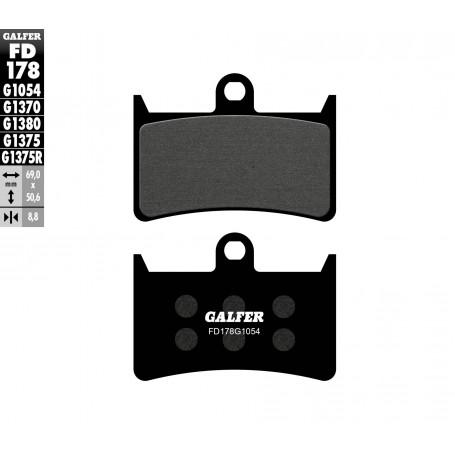 Pastillas Yamaha TDM 900 02-11 Delantera GALFER G1054 Semi Metálica
