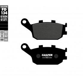 Pastillas Honda CBF1000 Trasera GALFER G1054 Semi Metálica 06-13 sin Abs
