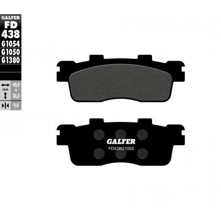 Pastillas Kymco Super Dinck 125i 09-15 Trasera GALFER G1050 Semi Metálica