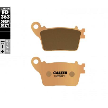 Pastillas Honda CBR600 F 11-12 Trasera GALFER G1371 Sinterizadas Street