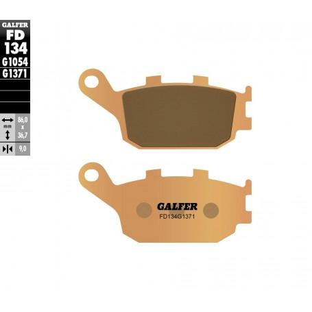 Pastillas Suzuki GSX 650F 08-10 Trasera GALFER G1371 Sinterizadas Street