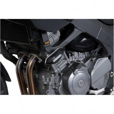 Kit de tope anticaídas Yamaha TDM 900 06-09 SW-MOTECH Negro
