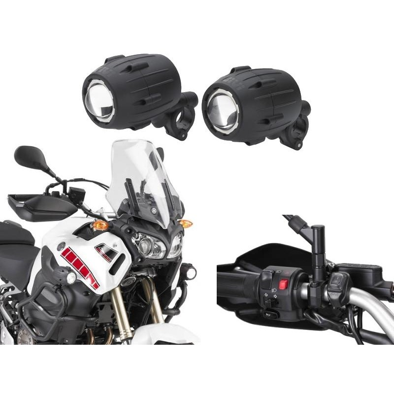 JUEGO LUCES SUPLETORIAS TREKKER LIGHTS HALOGENAS GIVI S310