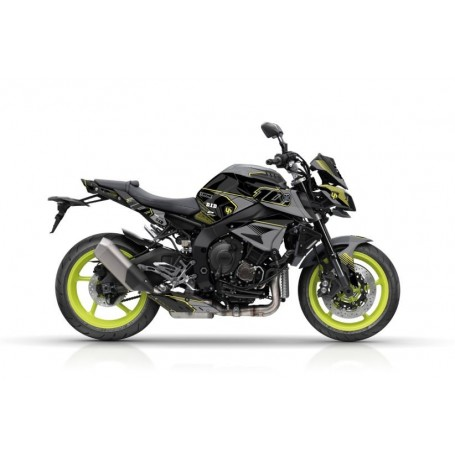 Kit Adhesivos Yamaha MT-10 15-17 Maximize Up Gris-Amarillo