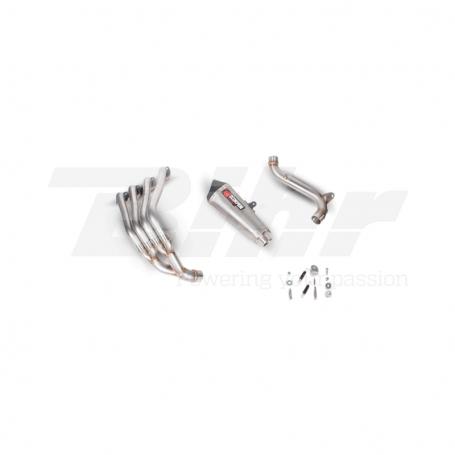 Escape Honda CB650F 14- Scorpion Serket cónico Inox sistemacompleto