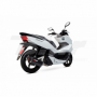 Escape Honda Maxiscooter PCX 13- Scorpion Serket Black Ceramic