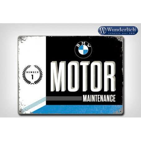 Letrero de chapa BMW Motor Maintenance 40x30 cm Nostalgic Art Wunderlich 25320-203