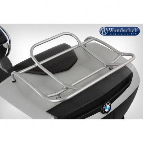 Portapaquete Metalico Wunderlich Maleta BMW R1200RT/K1200/1300GT Plata
