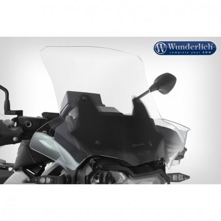 Cúpula BMW F750 GS / F800 GS 18- Transparente soporte corto 115mm  Wunderlich 20230-204