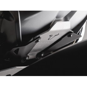 extension delantera de protector de motor bmw r1200gs 13- negro/plateado