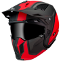 Casco MT Streetfighter SV Twin C5 Rojo Mate Trial