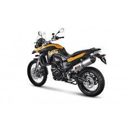 Silencioso Akrapovic BMW F 800 GS Adventure 13- Titanio Slip-on Line