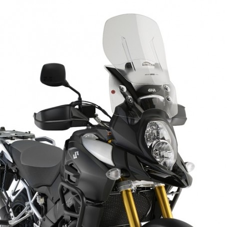 Cúpula Givi Suzuki Dl 1000 V-Strom 14-16 Transparente Extensible Airflow