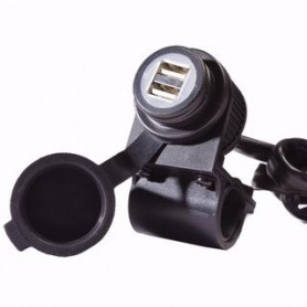 CARGADOR DOBLE USB 12V PARA MOVILES VICMA