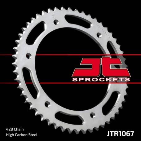 Corona Hyosung GT125 10-12 JT JTR1067.52 Acero 52 dientes