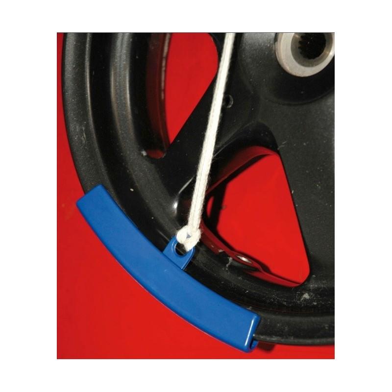 Protector de llanta 2 und. evita daños a la llanta cuando se sustituye la cubierta