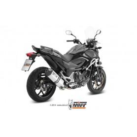 Escape Honda Nc750S 14- Mivv Speed Edge Acero Inoxidable