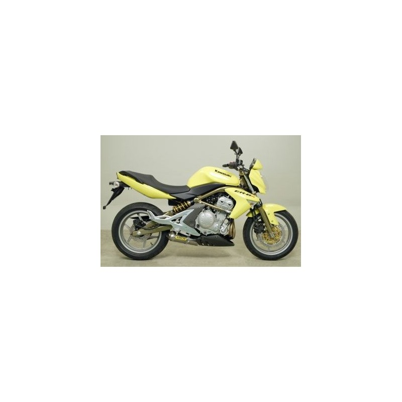 Silencioso ARROW Kawasaki Versys 650 07-13 / ER6N - F 05-11 Maxi Race Tech Approved aluminio
