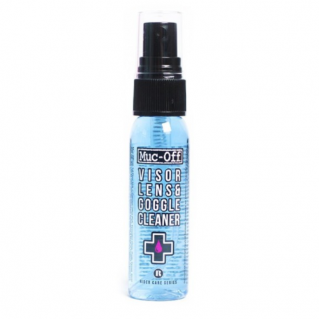 Limpiador antibacteriano de lentes y cascos Muc-Off Spray 35ml